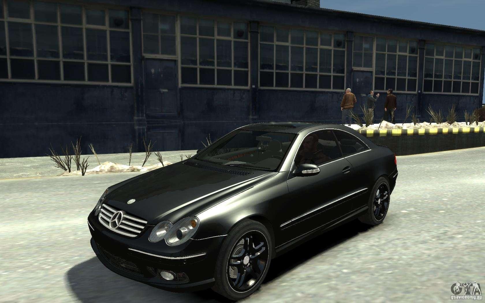 Mercedes benz clk55 amg 2003 v1 para gta 4 for Mercedes benz clk55 amg