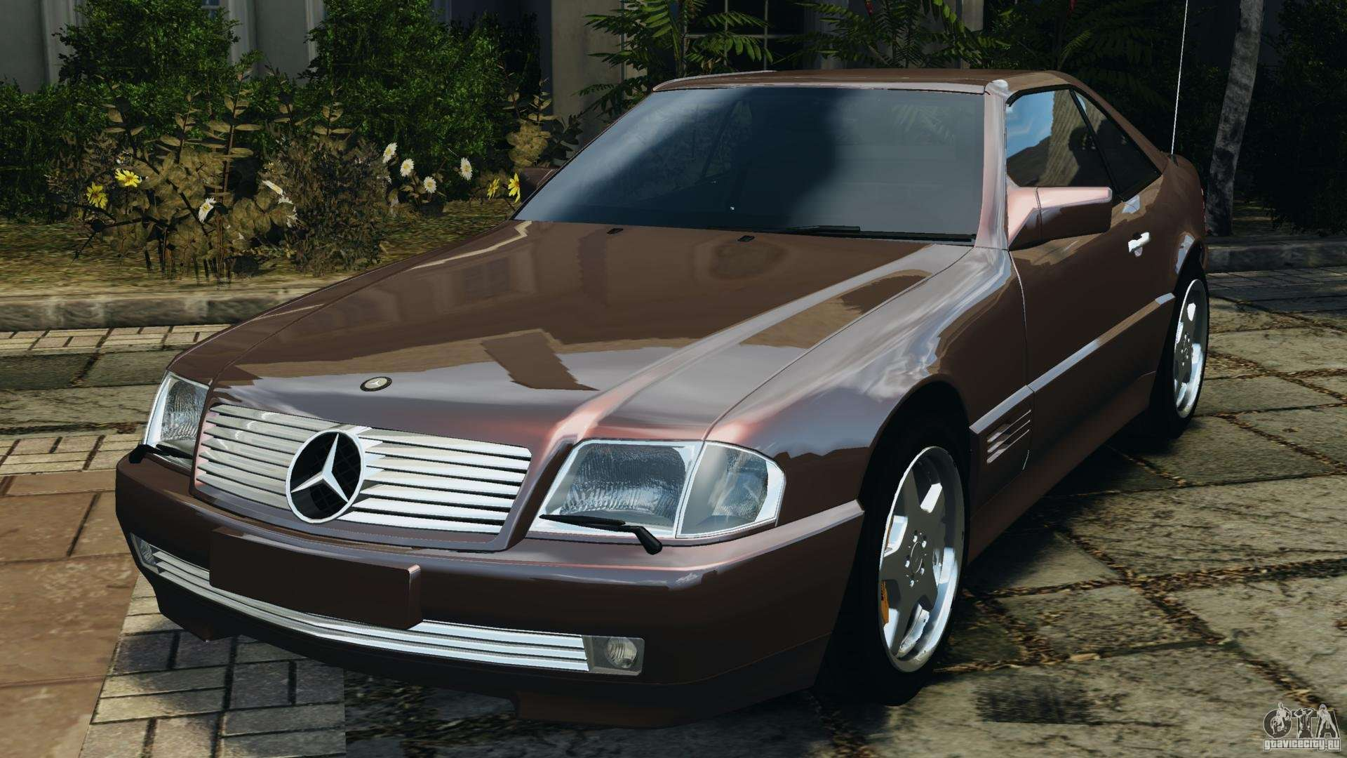 mercedes benz sl 500 amg 1995 final para gta 4. Black Bedroom Furniture Sets. Home Design Ideas