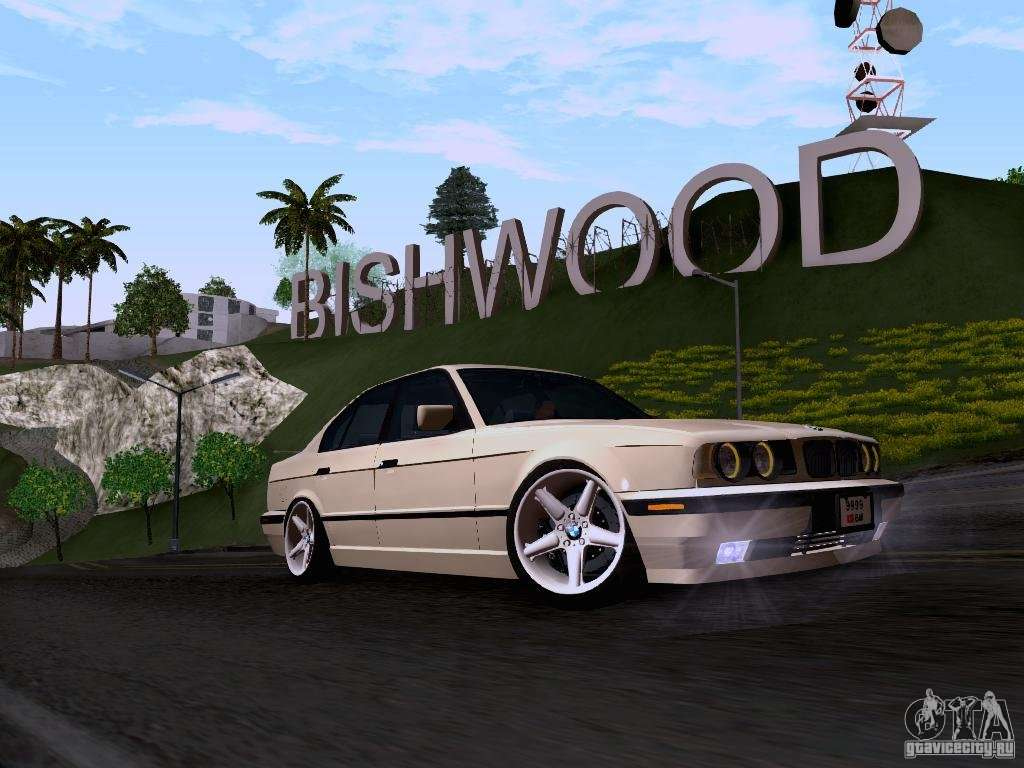 Bmw E34 M5 Stance