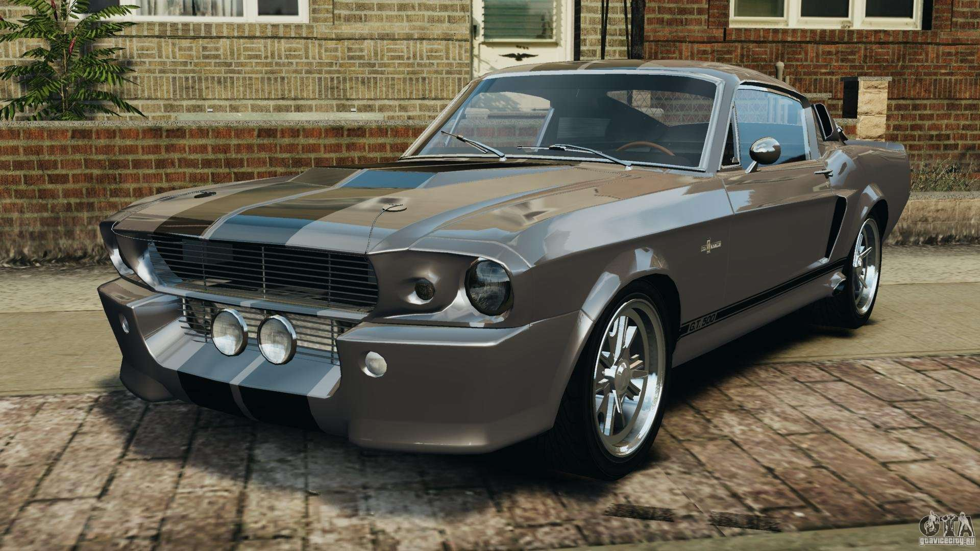 shelby mustang gt500 eleanor 1967 v1 0 epm para gta 4. Black Bedroom Furniture Sets. Home Design Ideas