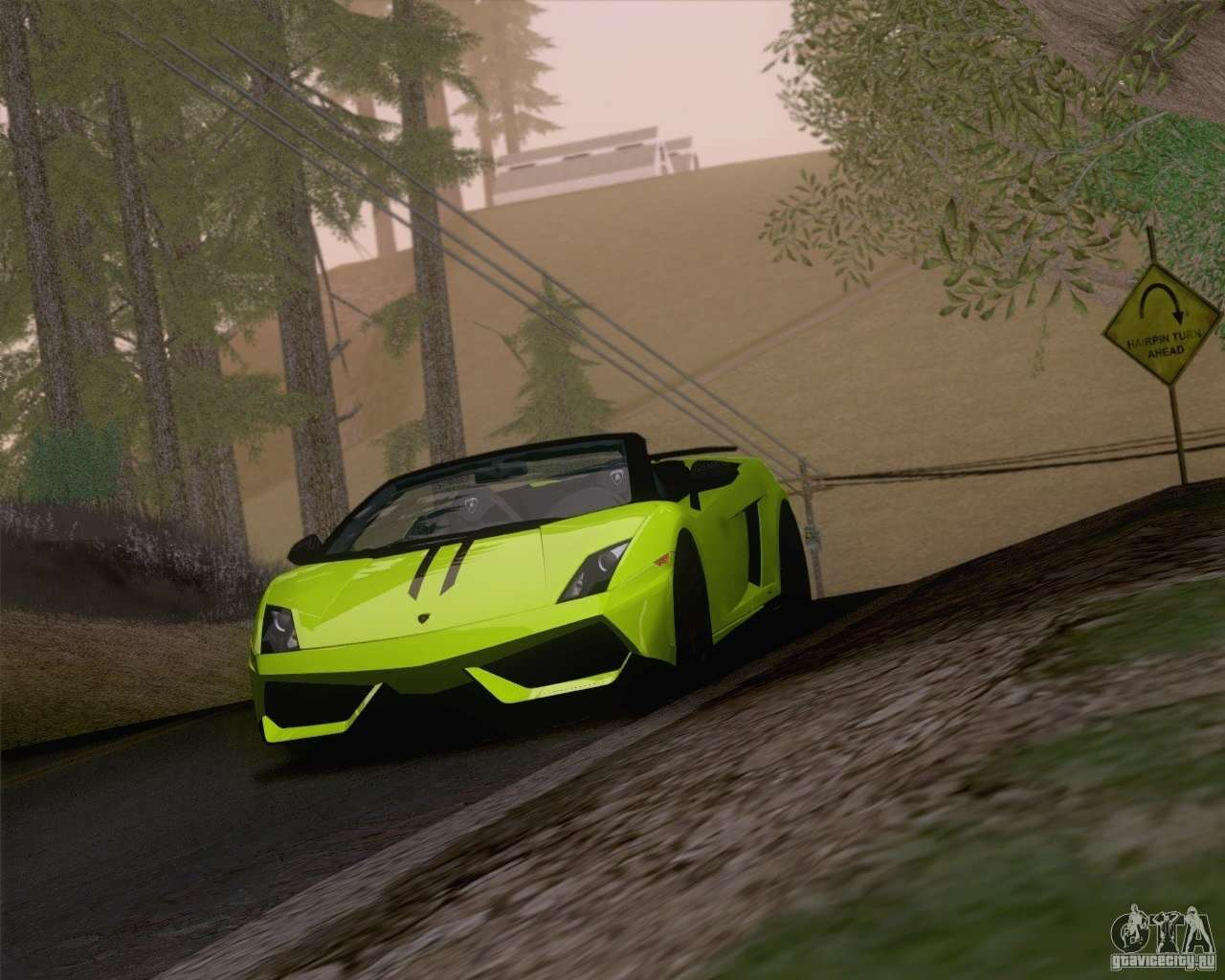 Lamborghini Gallardo Lp570 4 Spyder Performante Para Gta