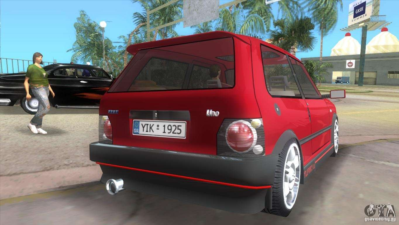 Fiat Of Glendale >> Fiat Uno Turbo para GTA Vice City
