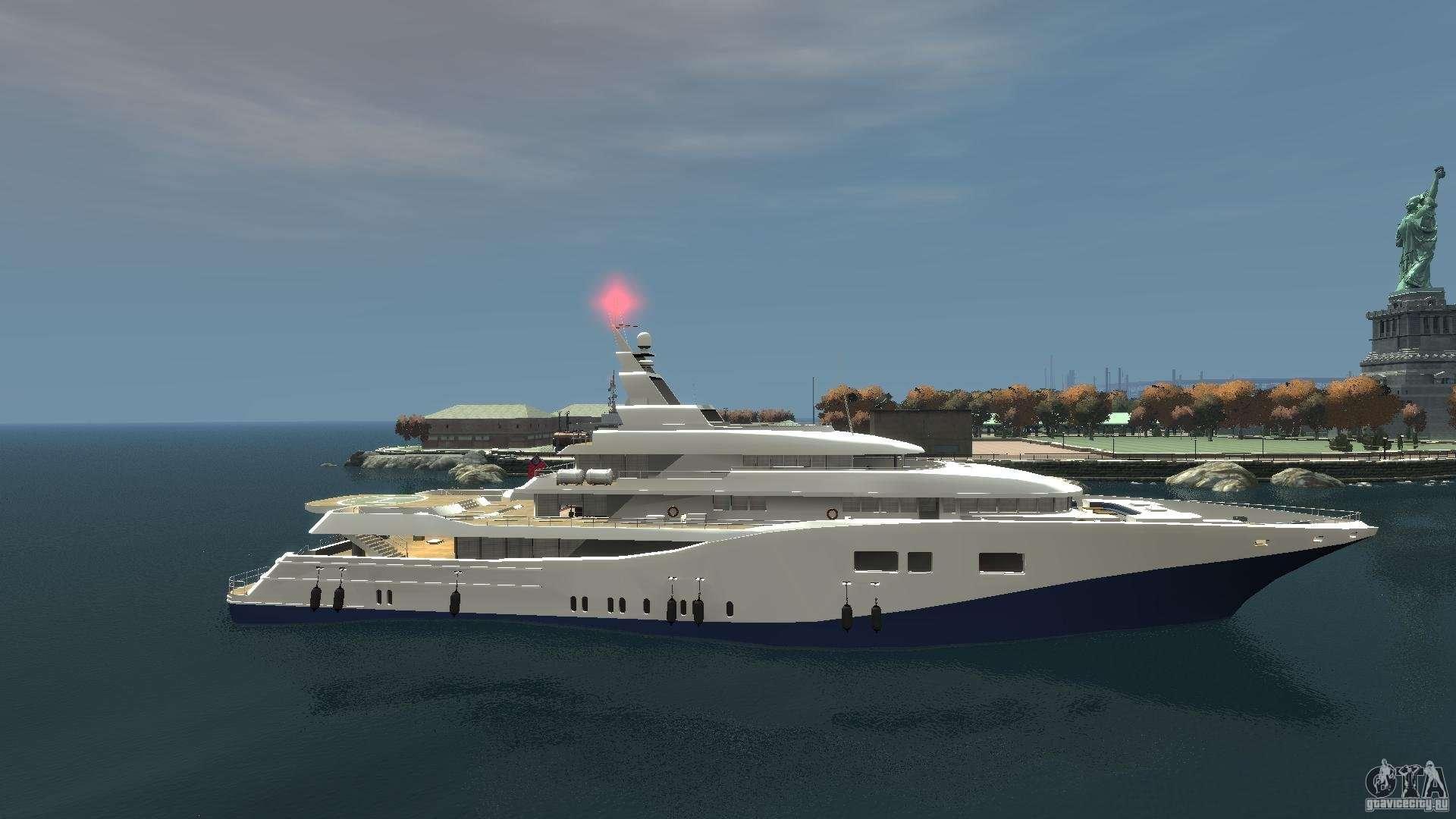 Gta 5 мод на Яхту
