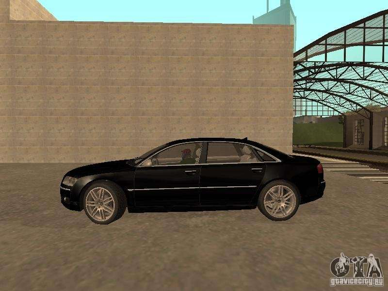 Audi A8 W12 S Line Para Gta San Andreas