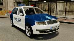 Skoda Fabia Combi Finnish Police ELS