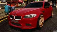 BMW M5 F10 2012 Hamann para GTA 4