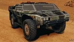 Armored Security Vehicle para GTA 4