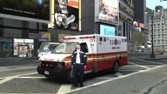 Chevrolet Ambulance FDNY v1.3 para GTA 4