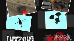 Chamar helicópteros com munições