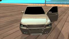 VAZ 2172 Priora silver para GTA San Andreas