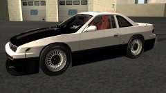 Nissan Silvia S13 streets phenomenon