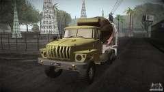 Ural 4320 betoneira