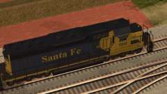 SD 40 UP BN Santa Fe para GTA San Andreas