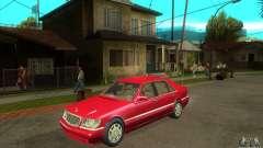 Mercedes-Benz S600 1999 para GTA San Andreas