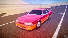 Ford Mustang GT 1993 Rims 2