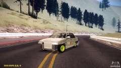 Hobo Vaz 21099 para GTA San Andreas