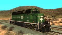 SD 40 Union Pacific Burlington Northern 3149