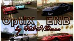 Optix ENBSeries Anamorphic Flare Edition para GTA San Andreas