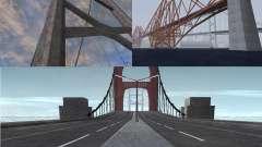 Novas texturas de três pontes em SF
