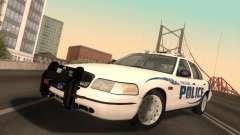 Ford Crown Victoria Vancouver Police para GTA San Andreas
