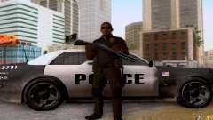 Um policial de CoD: BO2