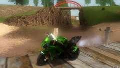 Kawasaki Zx 10-R II para GTA San Andreas