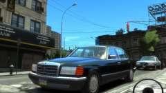 Mercedes-Benz W126 SEL560 1990