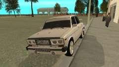 VAZ 2106 oeste estilo para GTA San Andreas