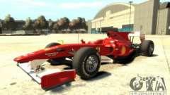 2010 Scuderia Ferrari F10 para GTA 4