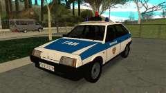 Polícia de 2109 VAZ