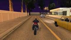Salto de moto no meu carro