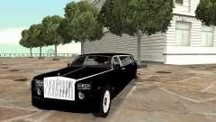 Motorista de limusine de Rolls-Royce Phantom 2003 para GTA San Andreas
