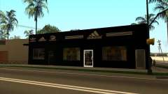 Substituição completa da loja Binco Adidas