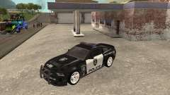 Ford Shelby GT500 2010 Police para GTA San Andreas