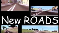 New Roads para GTA San Andreas