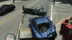 Danos realistas de carro para GTA 4