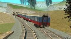 O carro das ferrovias russas Rússia