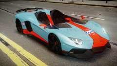 Lamborghini Aventador J 2012 Gulf