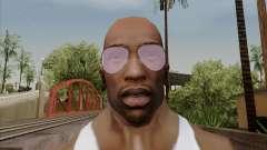 Óculos de aviador rosa para GTA San Andreas
