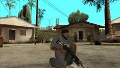 AKS-74 m com GP-25 para GTA San Andreas