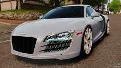Audi R8 5.2 Stock 2012 Final para GTA 4