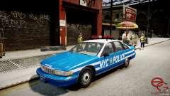 Chevrolet Caprice 1991 NYPD para GTA 4