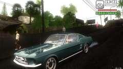 Ford Mustang 1967 American tuning para GTA San Andreas