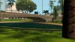 O novo parque em Los Santos