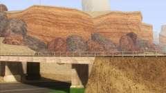 HQ Country Desert v1.3 para GTA San Andreas