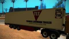 Reboque frigorífico para GTA San Andreas