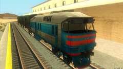 Um trem do jogo Half-Life 2