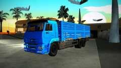 KAMAZ grão 65117 para GTA San Andreas