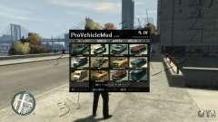 ProVehicleMod v.1.0.1 para GTA 4