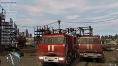 Kamaz bombeiro